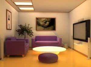 Desain Ruang Tamu Minimalis 1